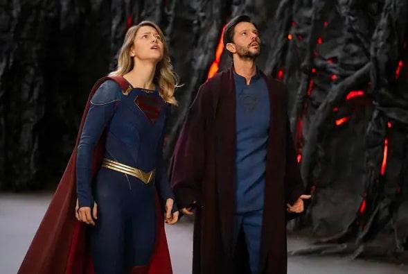 snapshot from Supergirl