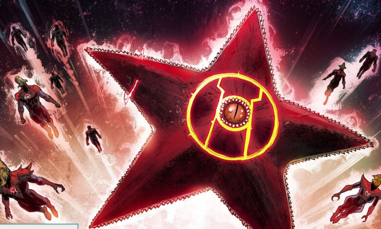 Giant Starro Statue unveiled by The Suicide Squad
