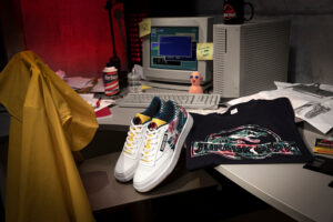 Rebook collaborated with Jurassic Park to create a sneaker lineup