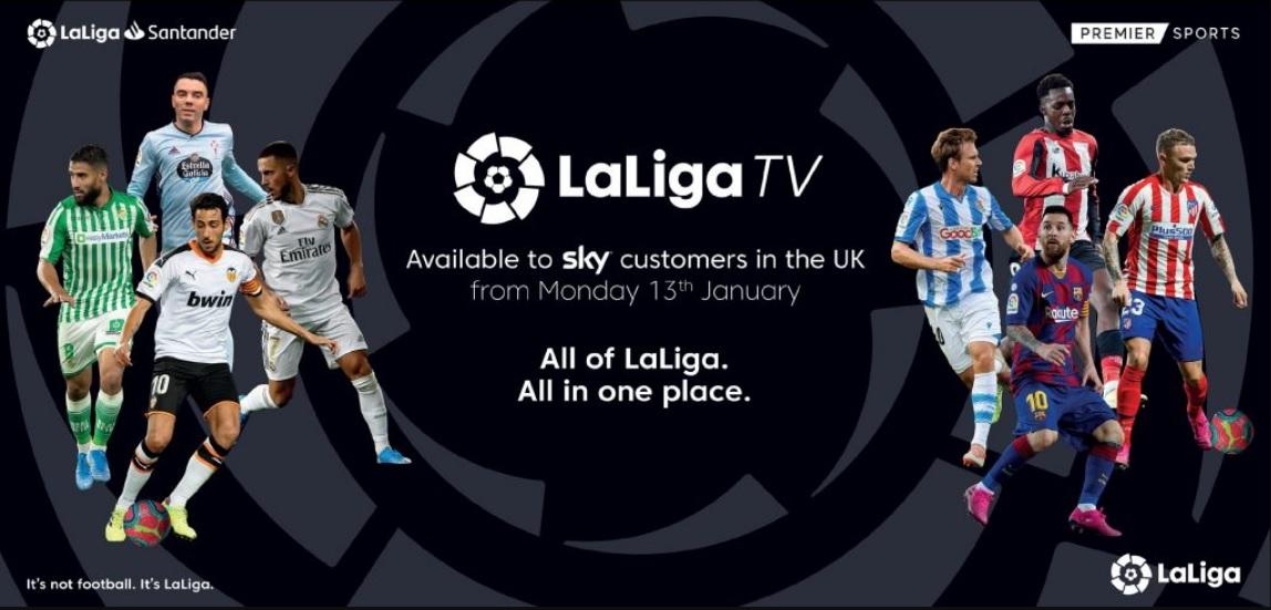GHD Sports Alternatives La Liga TV