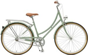 best hybrid bike under $300 - Retrospec Venus Dutch Step-Thru City Comfort Hybrid Bike