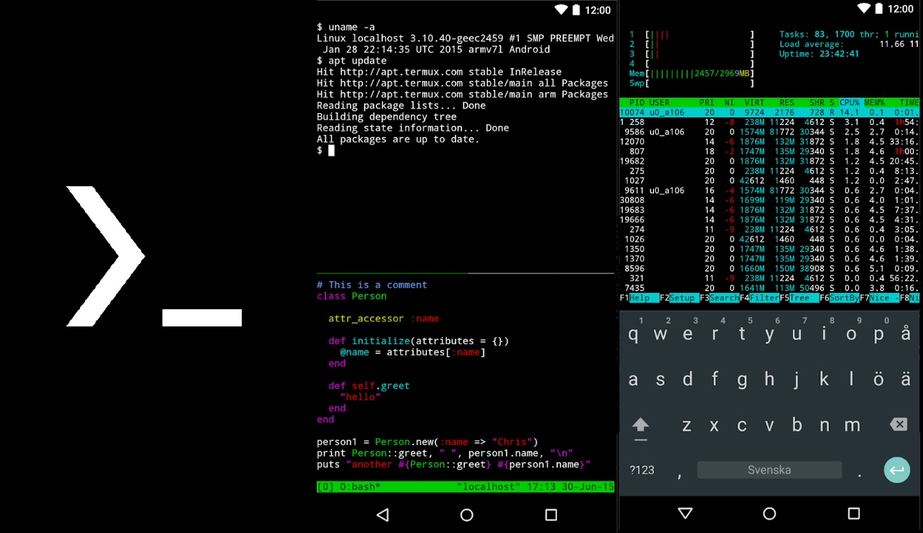 Best Root Apps for Android 15 Termux