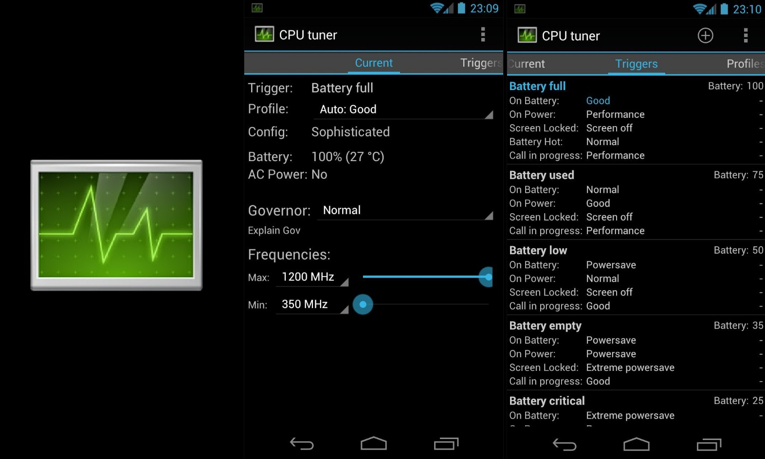 Best Root Apps for Android 19 CPU Tuner