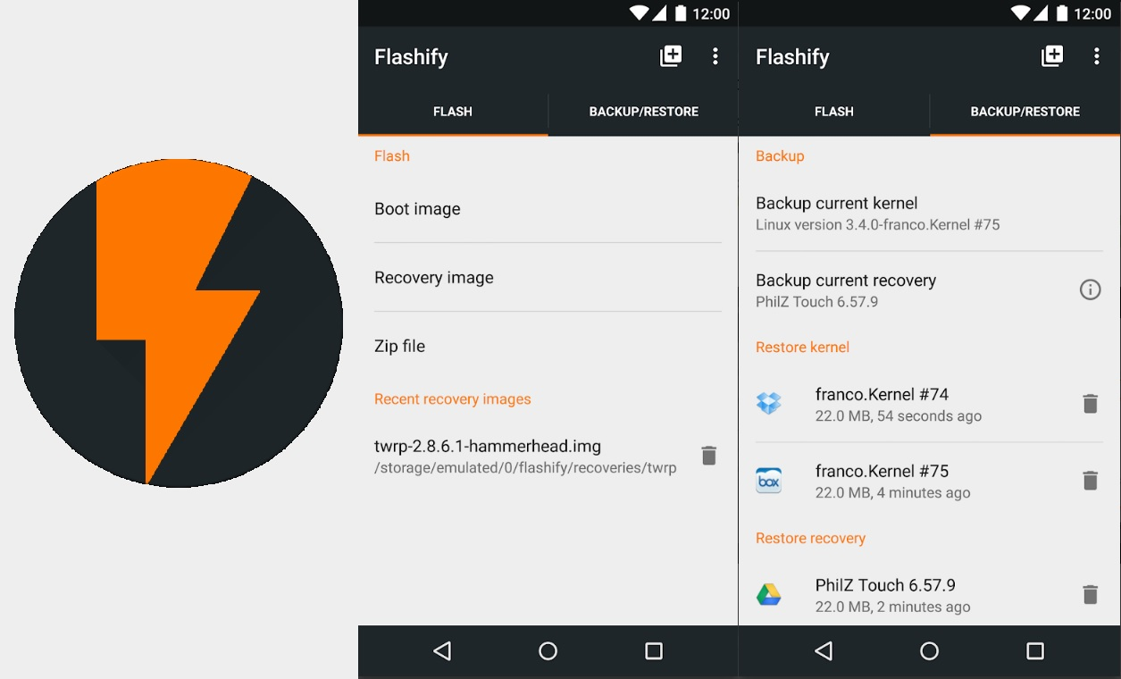 Best Root Apps for Android 8 Flashify