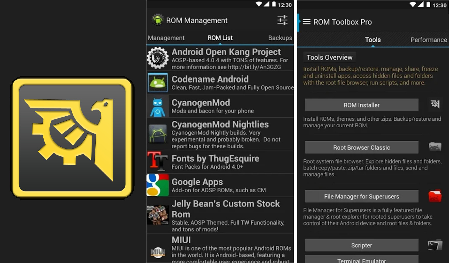 Best Root Apps for Android 9 ROM Toolbox