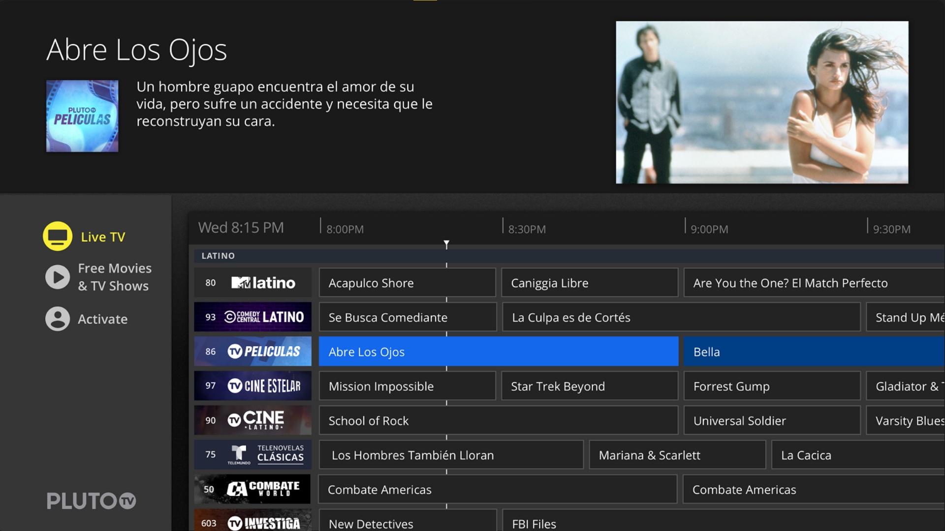 ThopTV alternative Plluto TV 1