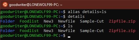 Ubuntu terminal commands and shortcuts alias