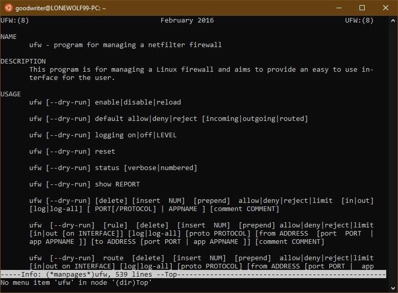 Ubuntu terminal commands and shortcuts info