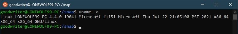 Ubuntu terminal commands and shortcuts uname