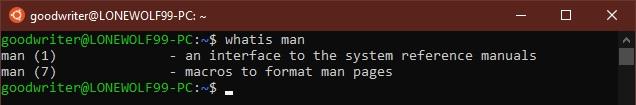 Ubuntu terminal commands and shortcuts whatis