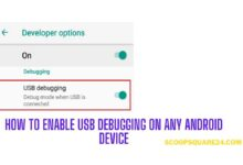 how-to enable USB debugging on Android