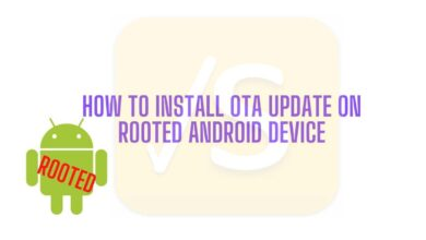 install ota update on rooted android device