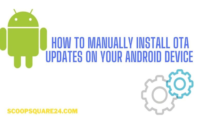manually install OTA android no root