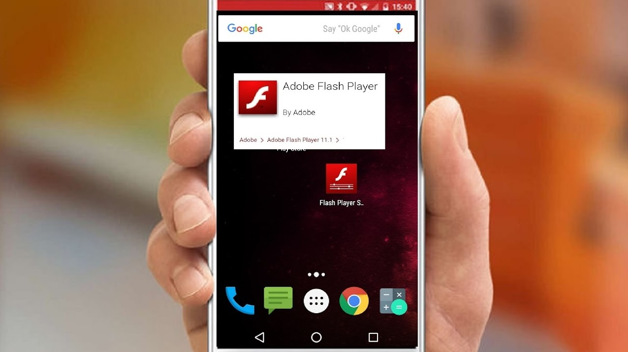Flash content on Android