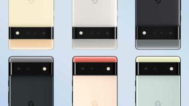 Pixel 6 series European pricing