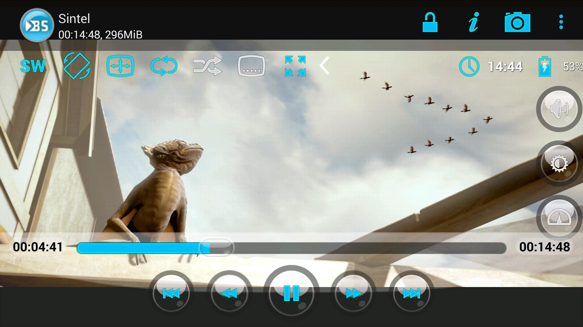 Best MKV Player for Android BS Player