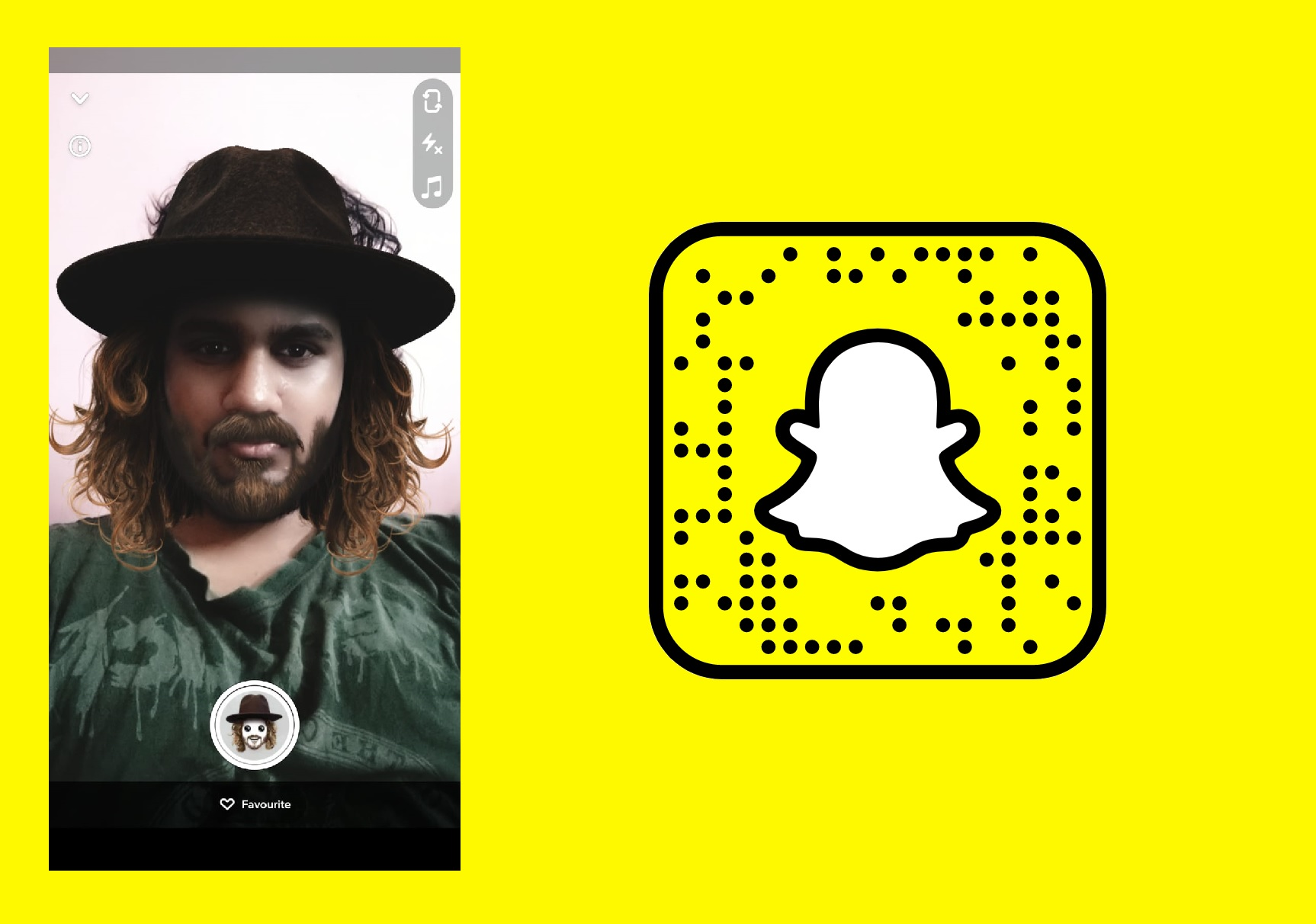 Popular Snapchat Filters - Hipster Look