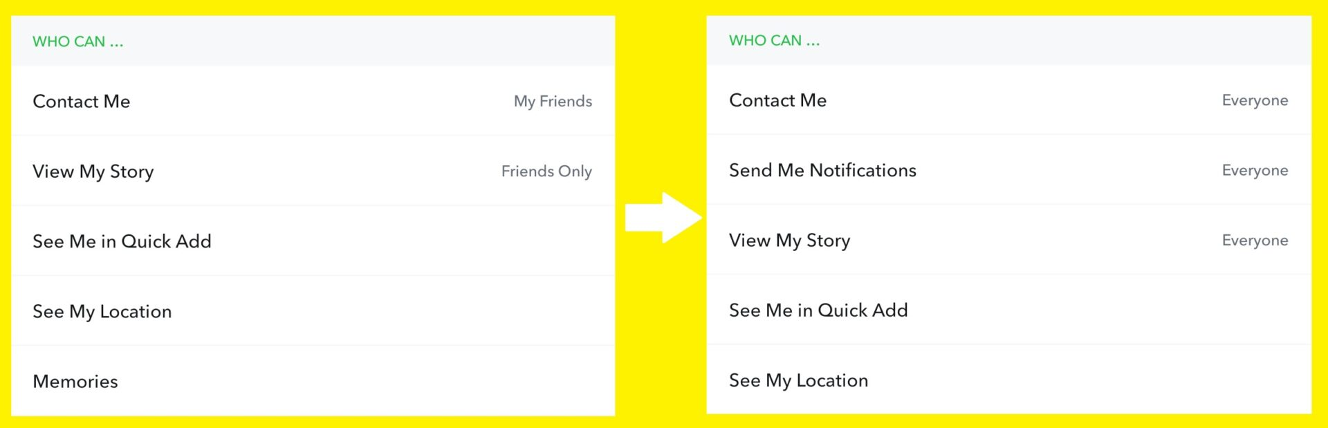 How to get a public profile on Snapchat 2