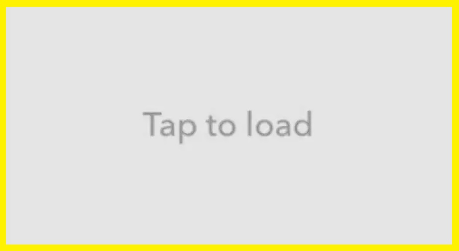 Snapchat Not Loading Tap to Load error