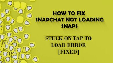 Snapchat not loading snap Cover Picture
