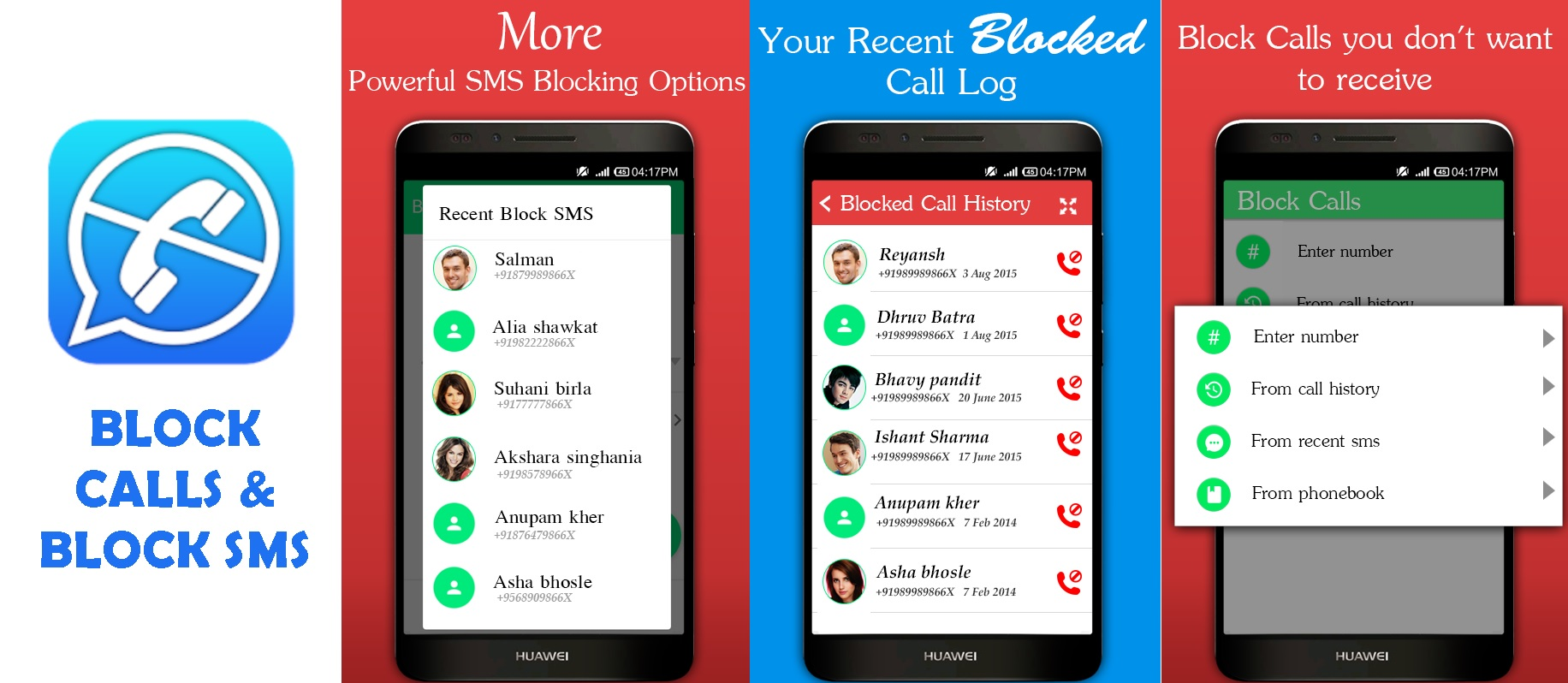 Text Blocker Apps for Android Block Calls and Block SMS