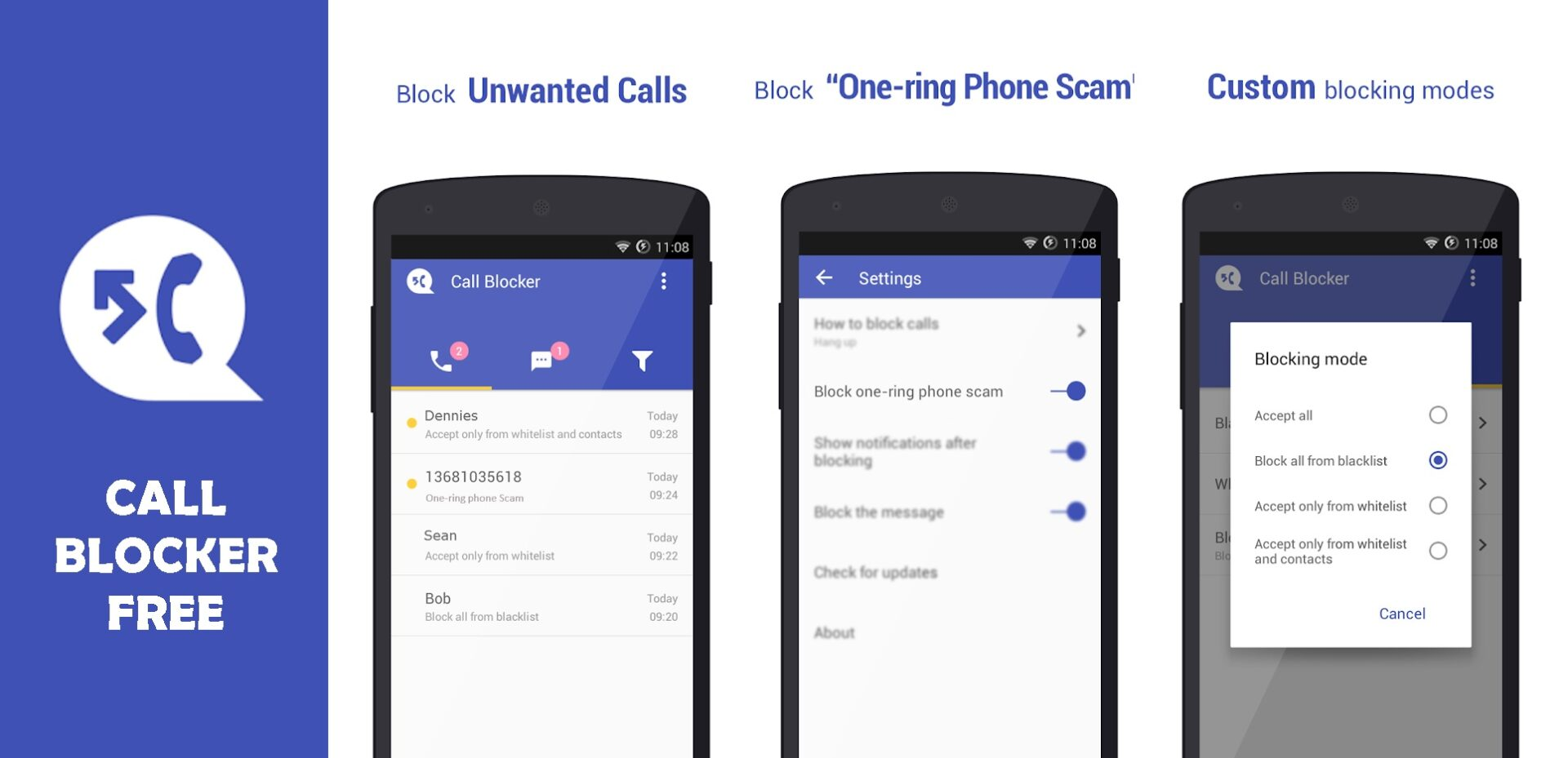 Text Blocker Apps for Android Call Blocker Free