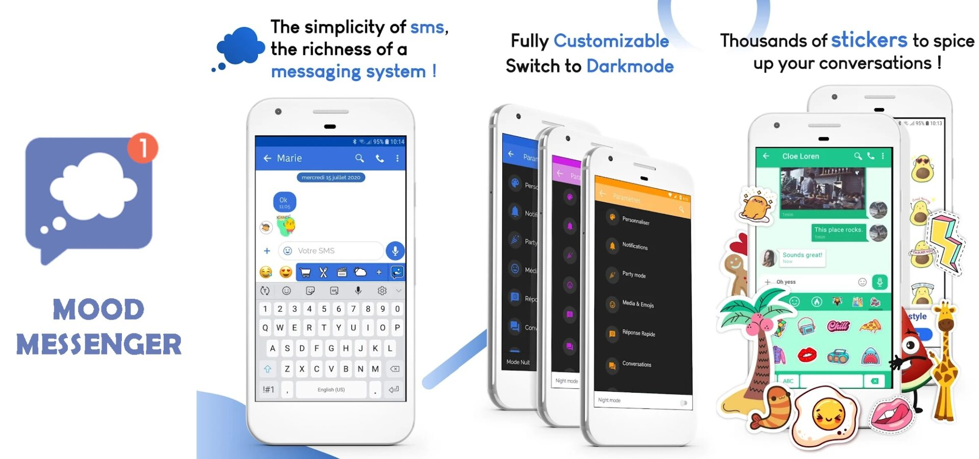 Text Blocker Apps for Android Mood Messenger