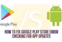 fix google play store error app update not checking