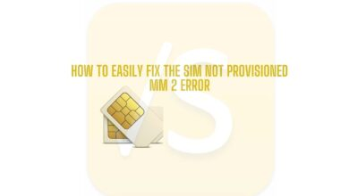 fix the SIM Not Provisioned MM 2 error