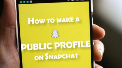 how to make a public profile on snapcht cover picture