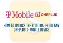 unlock bootloader on T-mobile OnePlus device