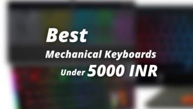 best mechanical keyboards under 5000