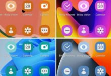 Samsung One UI 4.0 can change app icon colors based on the system theme