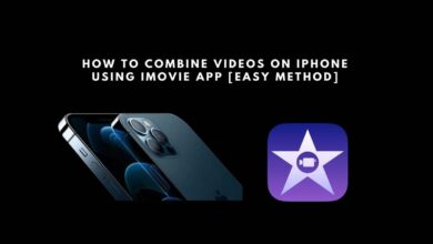 combine-videos on iPhone with iMovie