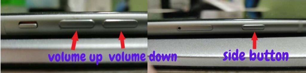 force restart iPhone SE 2nd generation