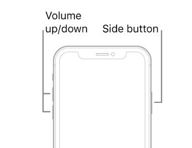force restart iphone