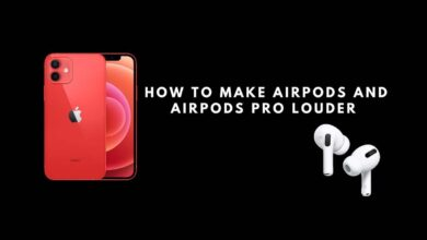 make airpods and airpods pro louder